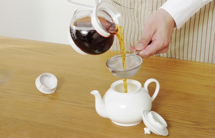 業務用紅茶の抽出技術について