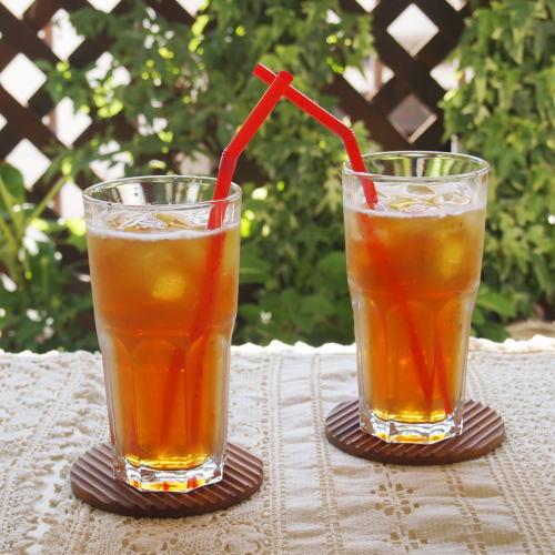 氷を入れたグラスに注ぎ軽く混ぜればでき上がり