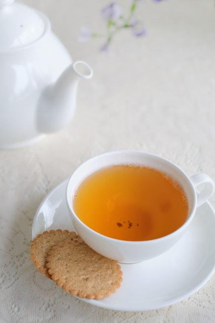 紅茶は1ティーポットが一人分