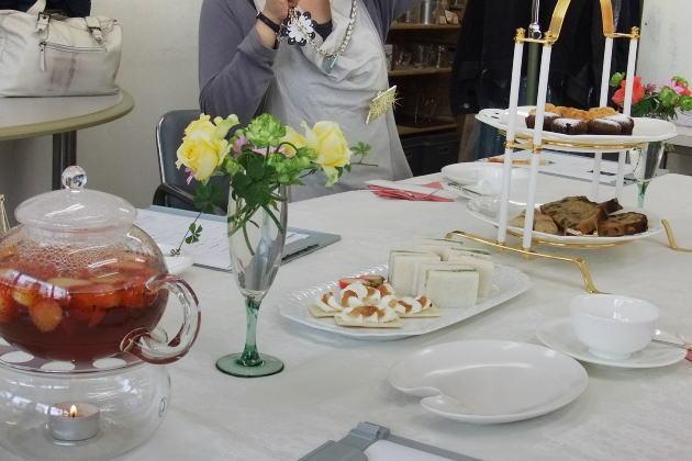 紅茶教室1月