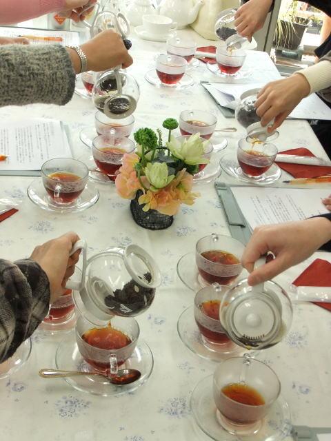 紅茶教室ビギナーコース2021後期(9月~2022年1月)