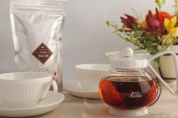 アッサムCTC紅茶のティーバッグ