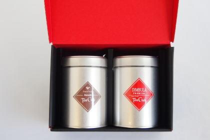 紅茶2缶ギフト「アッサムCTC&ディンブラ」