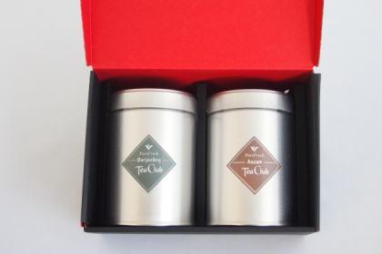 紅茶2缶ギフト「ピュアダージリン&アッサムCTC」