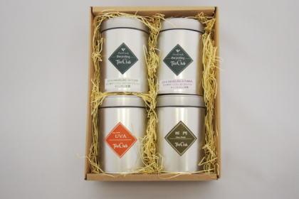 紅茶4缶ギフト「世界三大銘茶:ダージリンシーズンティー×2、ウバ、キーマン」