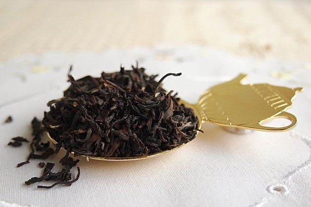 ダージリンセカンドフラッシュの茶葉