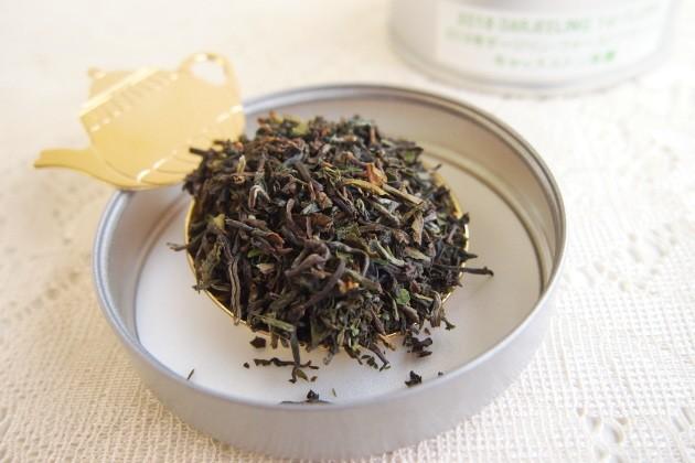 ダージリンファーストフラッシュ2018キャッスルトン茶園の茶葉