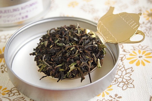 ジャンパナ茶園の茶葉