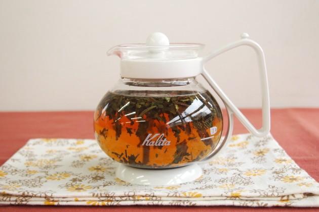 ジャンパナ茶園の水色