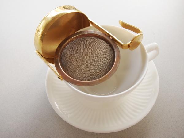 茶漉しの使い方