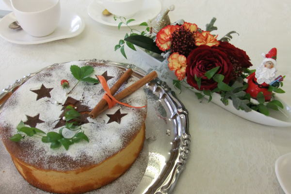 フルーツケーキと合う紅茶キーマン