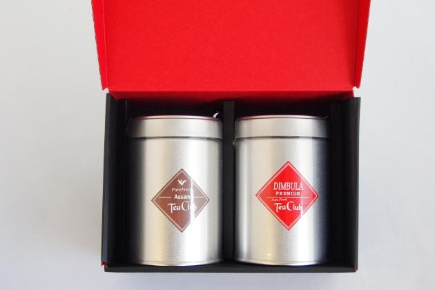 紅茶2缶ギフト「アッサム&ディンブラ」