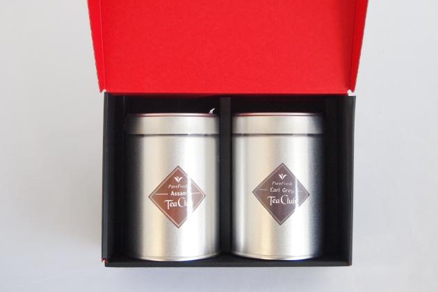 紅茶2缶ギフト「アッサム&アールグレイ」