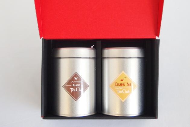 紅茶2缶ギフト「アッサム&キャラメルティー」