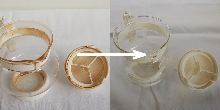 ガラス製ティーポット