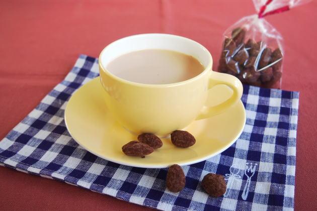 アーモンドショコラと紅茶のペアリング
