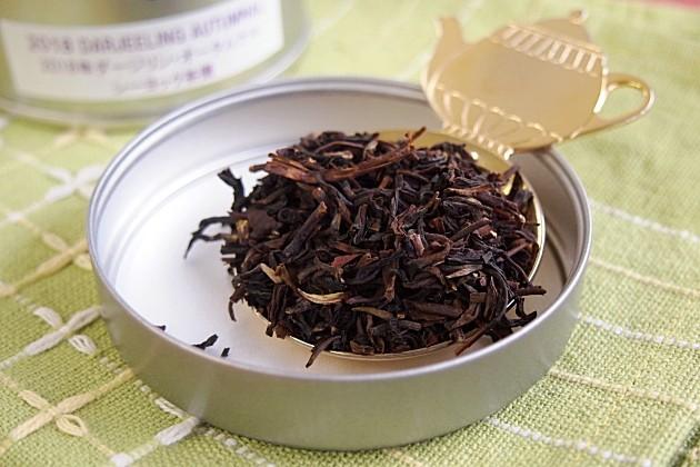 オータムナルシーヨック茶園の茶葉