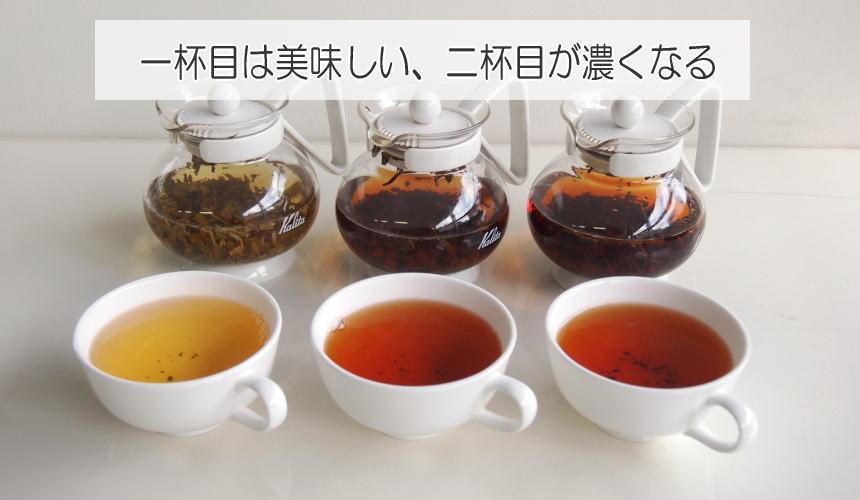 二杯目の紅茶が濃くなった時の対処法