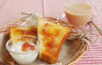 バラ香るトースト
