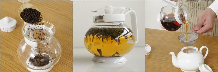 手軽に、美味しく、紅茶をいれるために最低限必要な道具