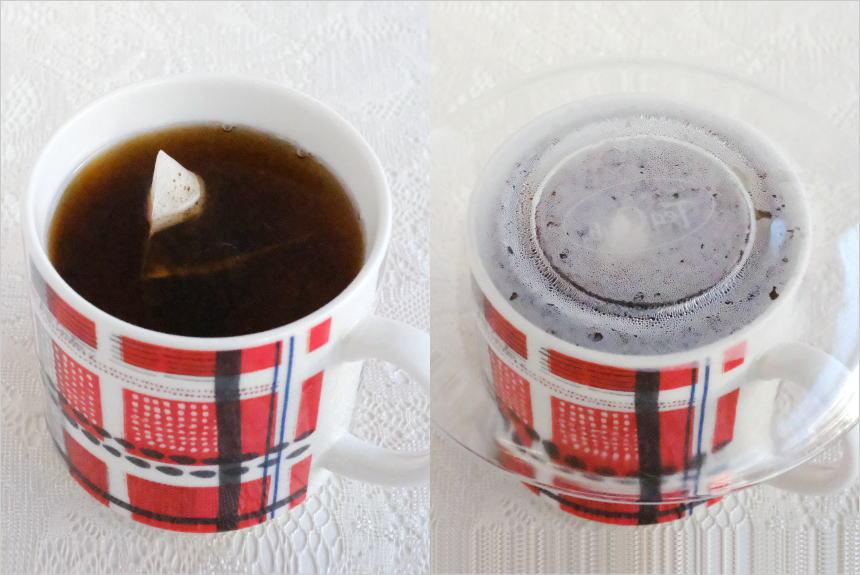 ティーバッグをマグカップでいれる方法