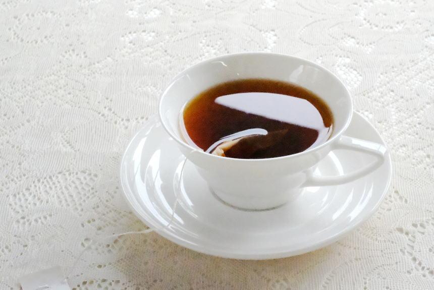 ティーバッグの紅茶