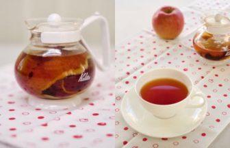 """アップルティー""""リンゴの皮で作る方法"""""""