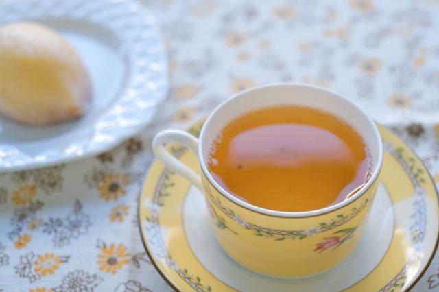 ダージリンファーストフラッシュ2021グームティー茶園とタカキベーカリーの広島レモンケーキ