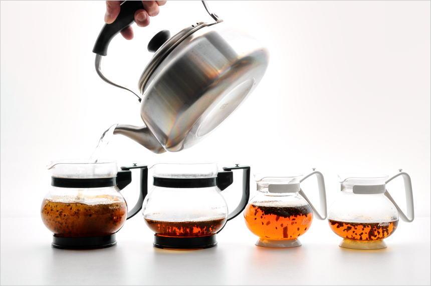 ティーポットの大きさと作る紅茶の量のバランスで紅茶の味は変わる