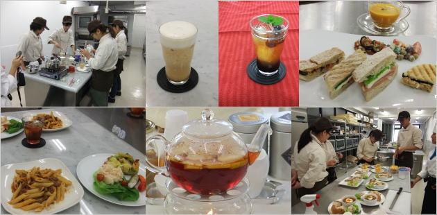 専門学校で紅茶の講師をしております